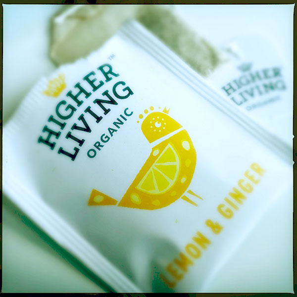 Higher Living Tea Bag from England